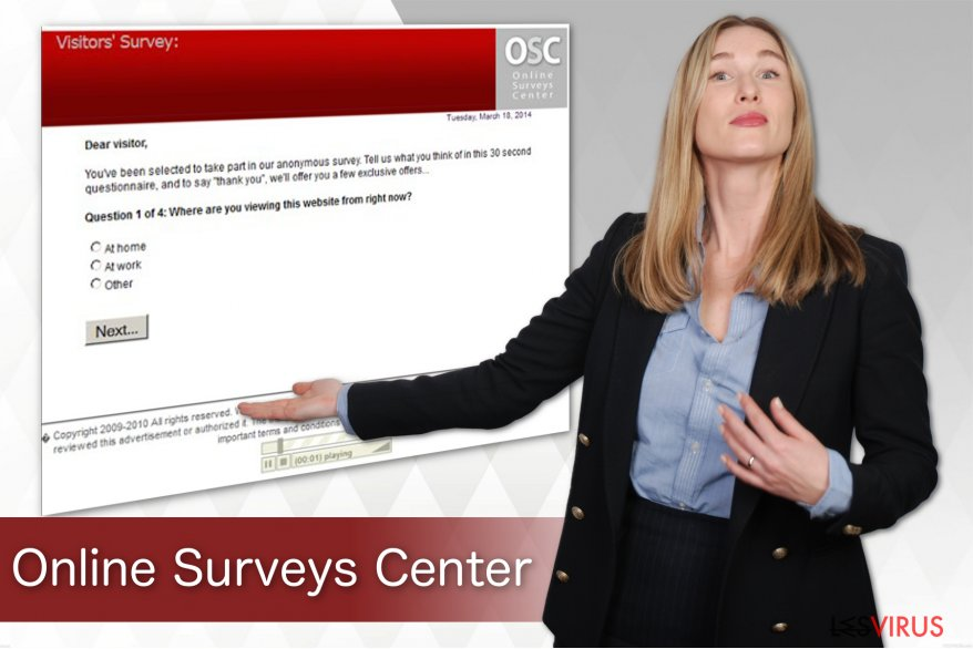 Online Surveys Center virus instantané