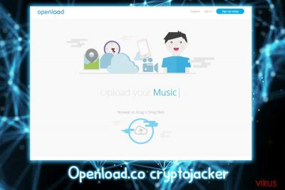 Le crypto-jacker Openload.co