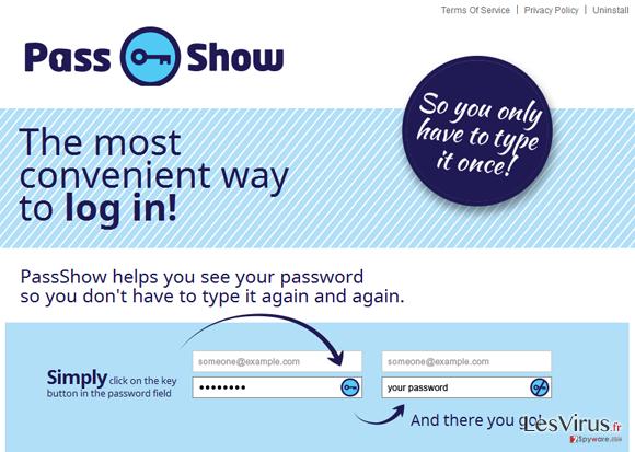 PassShow ads instantané