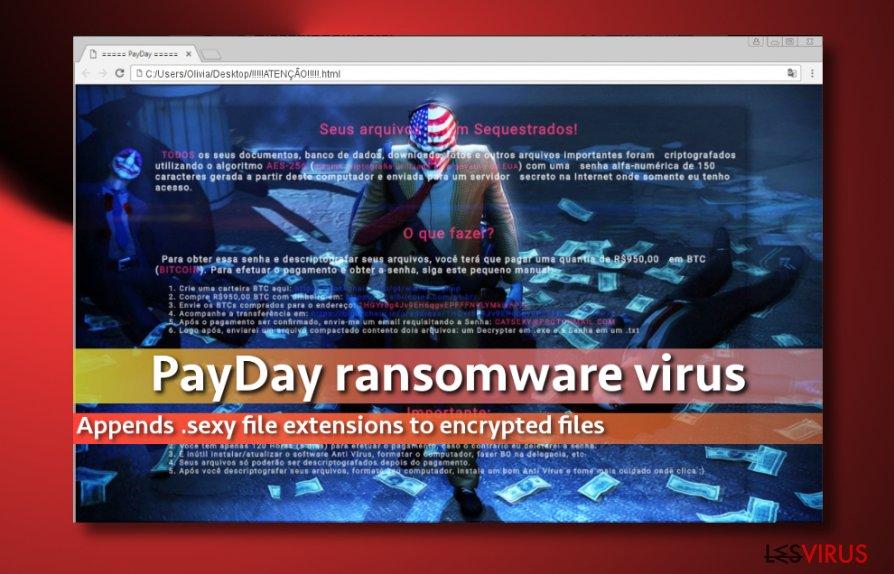 Image représentant le virus PayDay