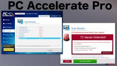 Le virus PC Accelerate Pro