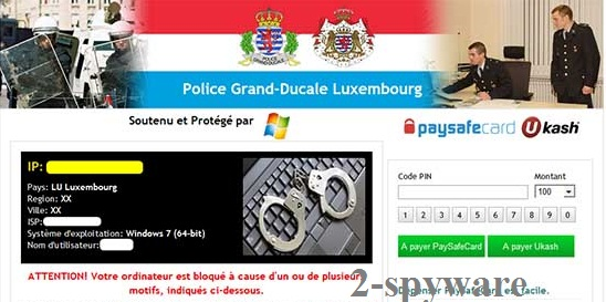 Police Grand-Ducale Luxembourg virus instantané