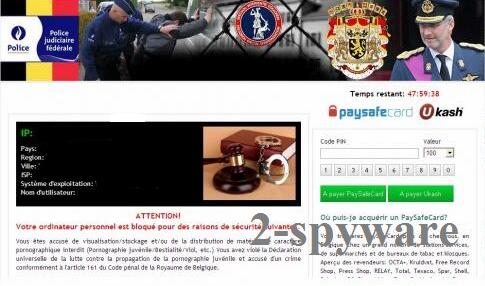 Police Judiciaire Fédérale virus instantané