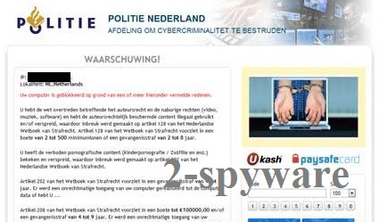 Politie Nederland virus instantané