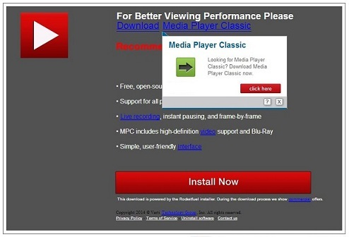 PremiumPlayerUpdates.com pop-up virus instantané