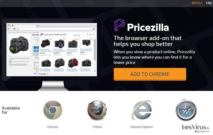 Annonces par PriceZilla instantané