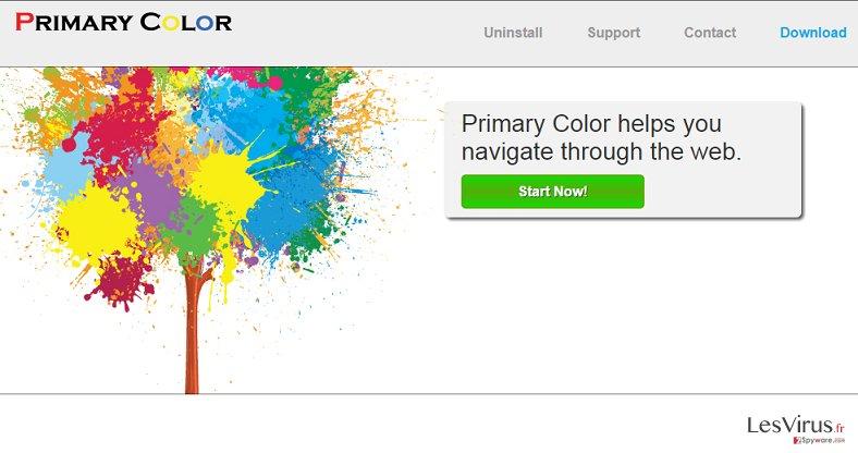Primary Color annonces instantané