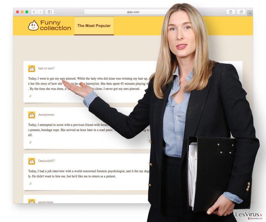 Un aperçu de Qtipr.com
