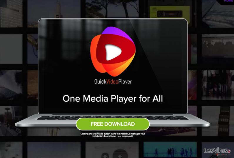 QuickVideoPlayer annonces instantané