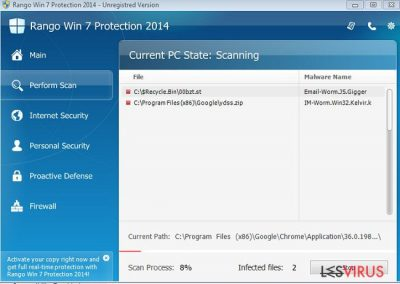 Rango Win 7 Protection 2014