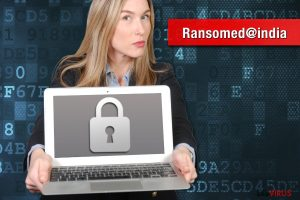 Le rançongiciel Ransomed@india