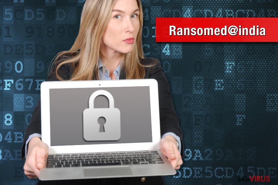 Le rançongiciel Ransomed@india