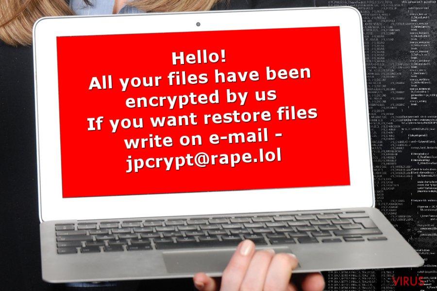 Image of Rapid ransomware virus