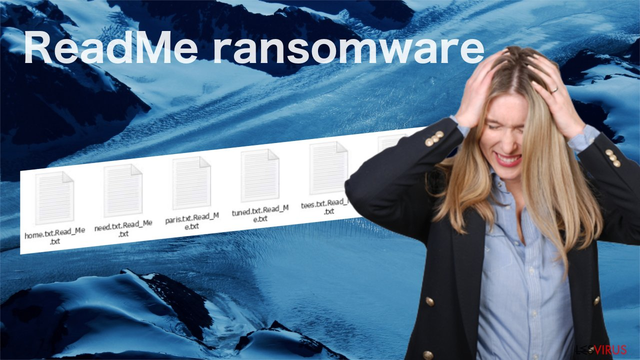 Le virus du fichier ReadMe