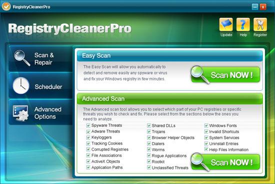 Registry Cleaner Pro instantané