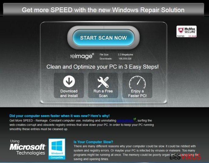 Dee publicité ReimagePlus.com