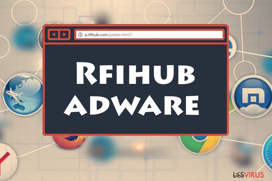 l'adware Rfihub