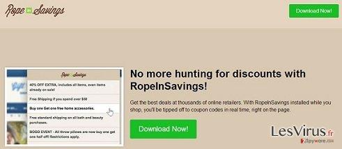 RopeInSavings annonces instantané