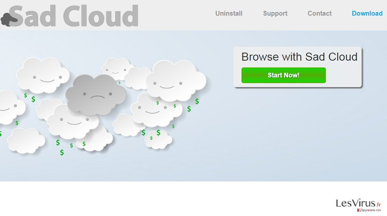 Sad Cloud annonces instantané