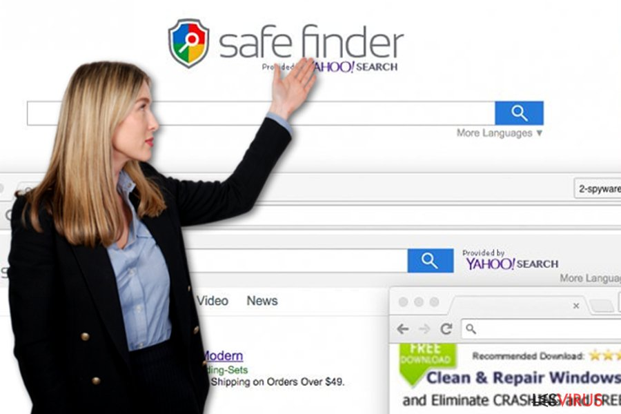 Le virus Safe Finder instantané