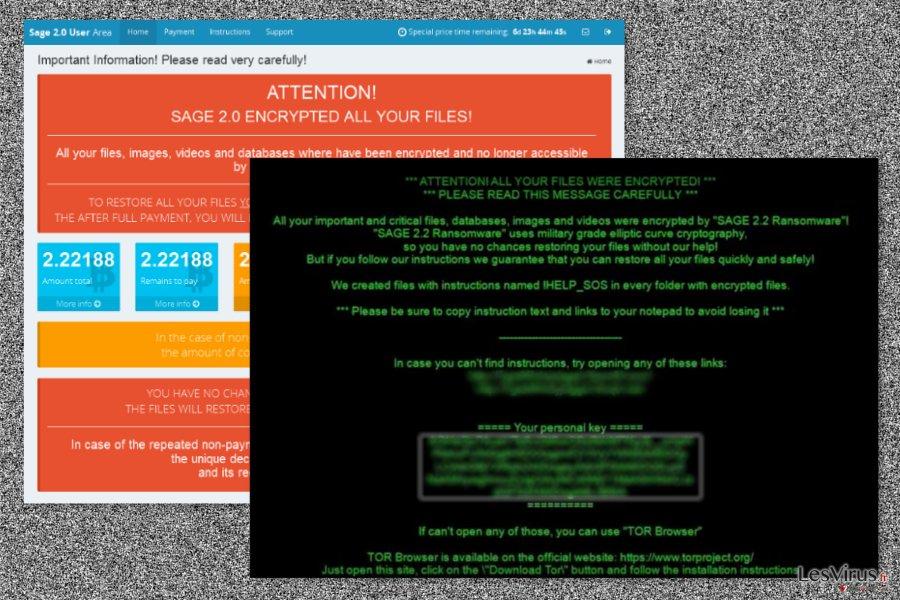 Sage 2.2 ransomware virus
