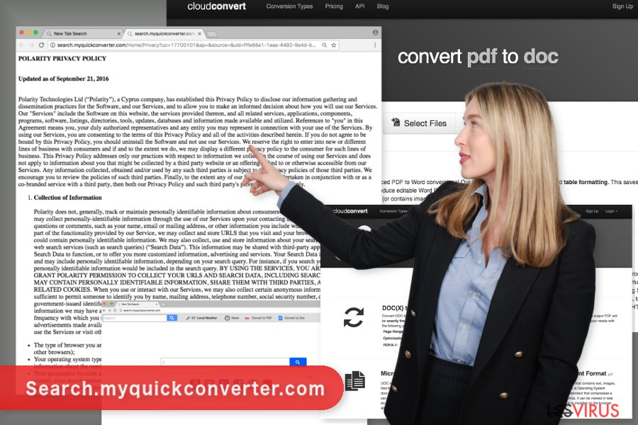 L'image du virus  Search.myquickconverter.com