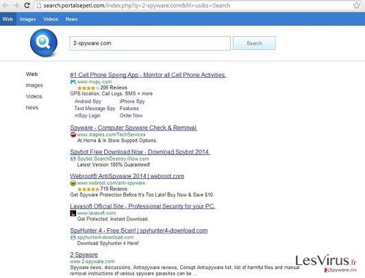 Search.Portalsepeti.com instantané
