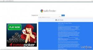 Le virus Search.safefinder.info