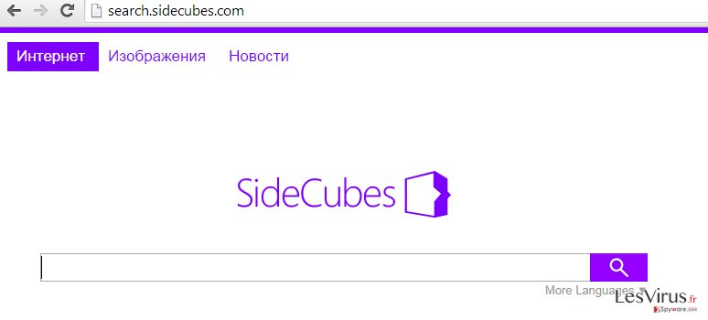 search.sidecubes.com instantané