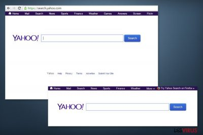 l'image de search.yahoo.com