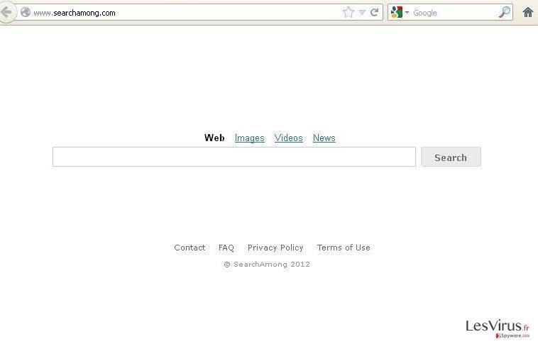SearchAmong.com virus instantané