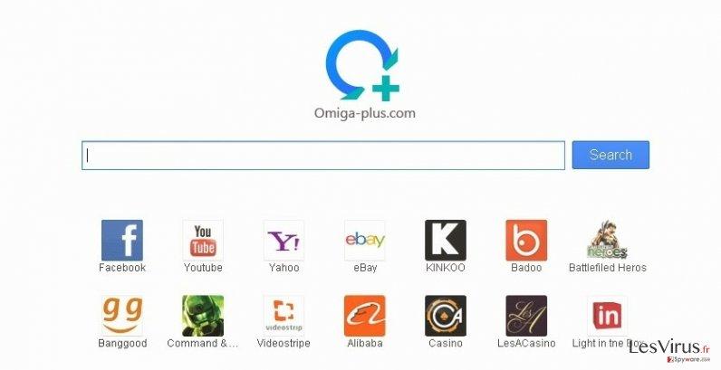 Searches.omiga-plus.com virus instantané