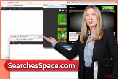 Le virus SearchesSpace.com