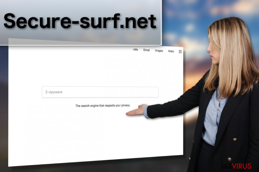 Illustration du virus Secure-surf.net