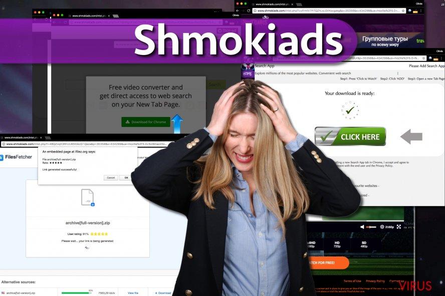 le maliciel Shmokiads