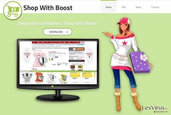 Shop with Boost virus instantané