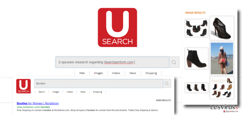 Searchperform.com virus hijacks browsers and displays altered search results