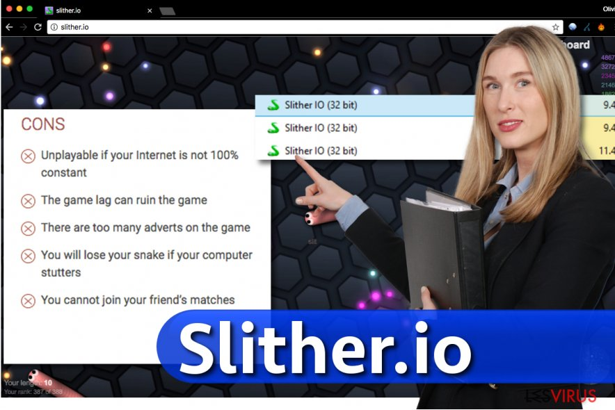 Application Slither.io