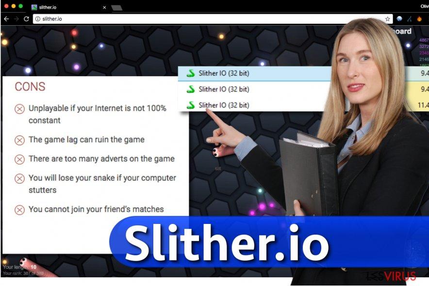 Slither.io virus