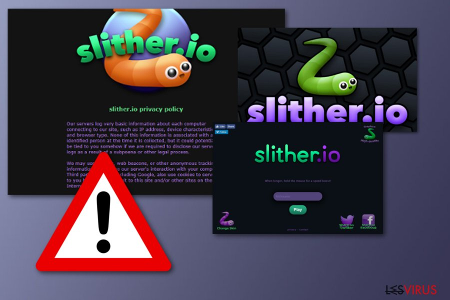 Application indésirable Slither.io