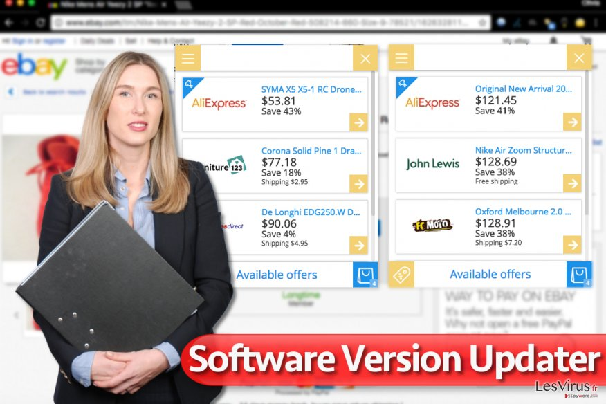 Software Version Updater instantané