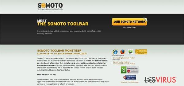 Somoto Toolbar instantané