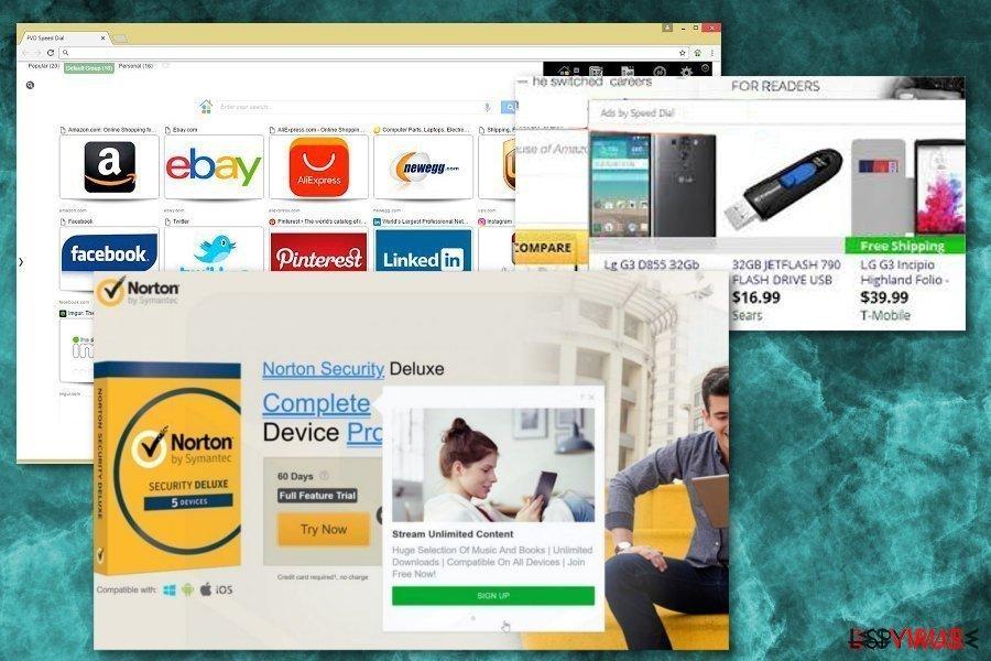 Speedial.com virus instantané