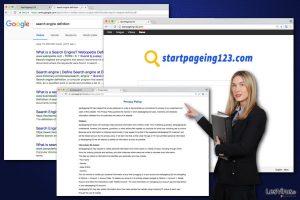 Le virus StartPageing123