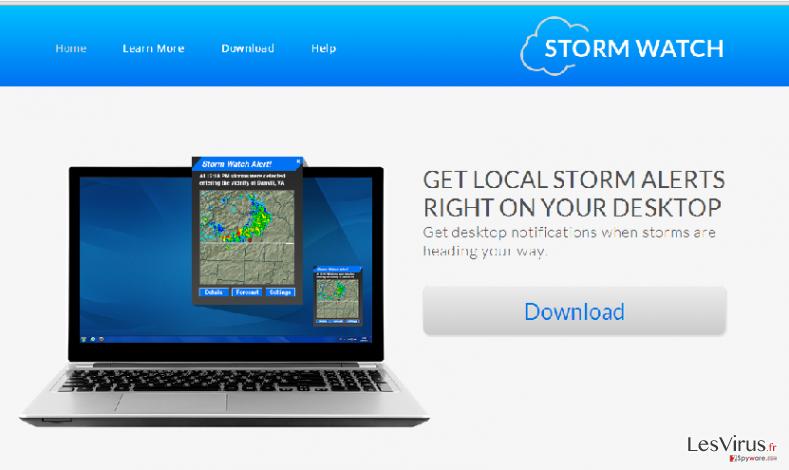 StormWatch annonces instantané
