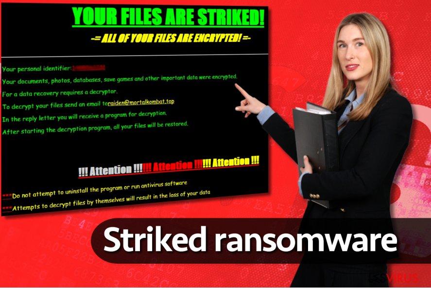 le rançongiciel Striked
