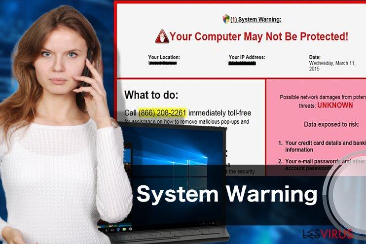 «System Warning» Pop up