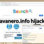 Le virus Tavanero.info instantané