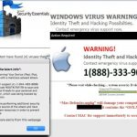 Le virus Tech Support Scam instantané