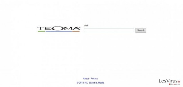 Teoma Web Search instantané